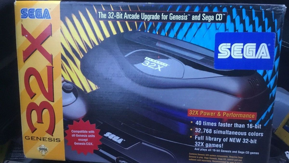 Sega's 32X was one of video gaming's biggest disasters