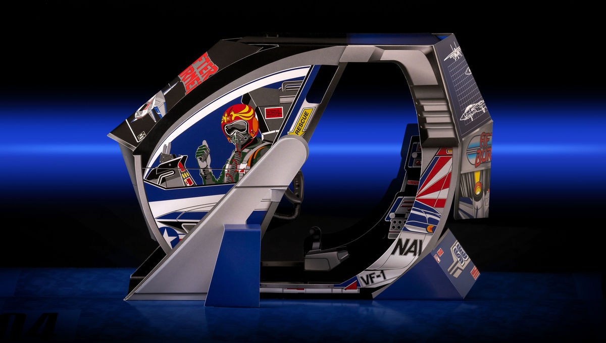 This throwback pop-up book brings your favorite 1980's Sega arcade cabinets to life