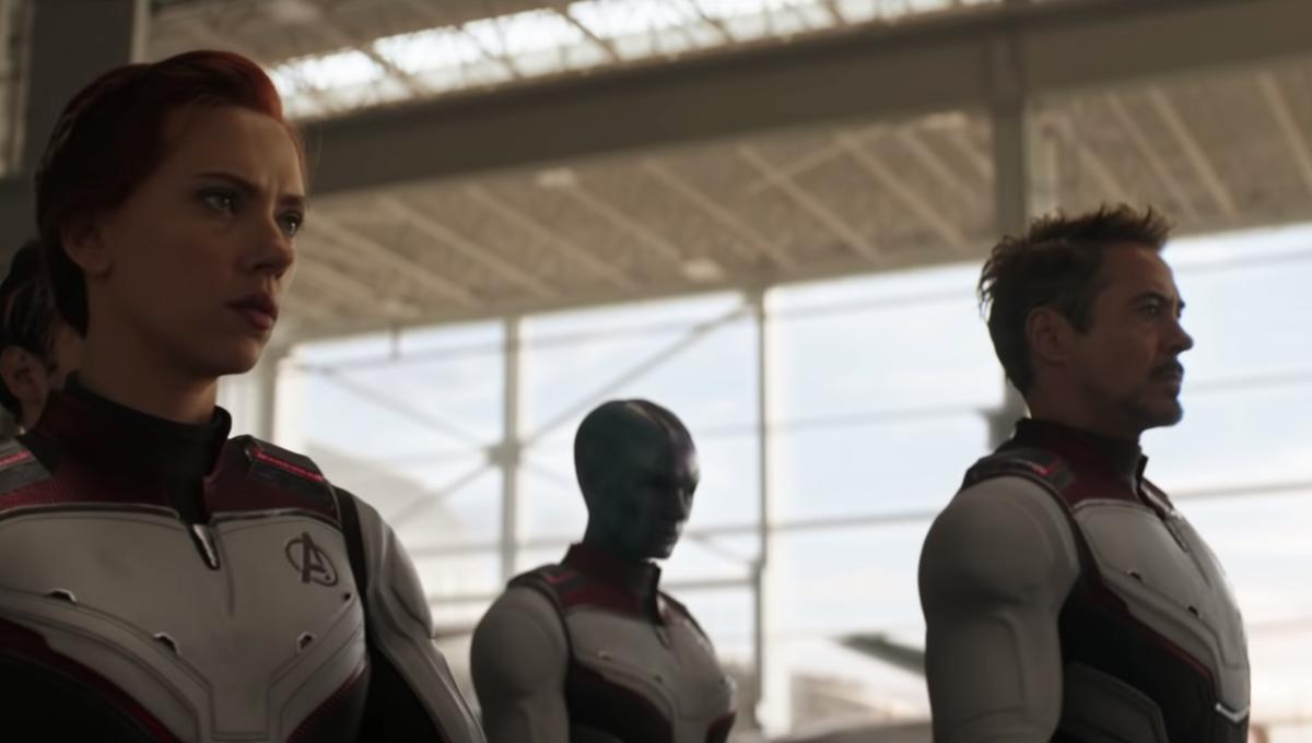 Avengers: Endgame trailer, Natasha Romanoff and Tony Stark