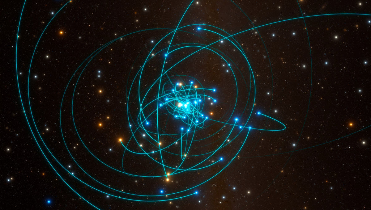 Astronomers find a star dive-bombing our galaxy's supermassive black hole