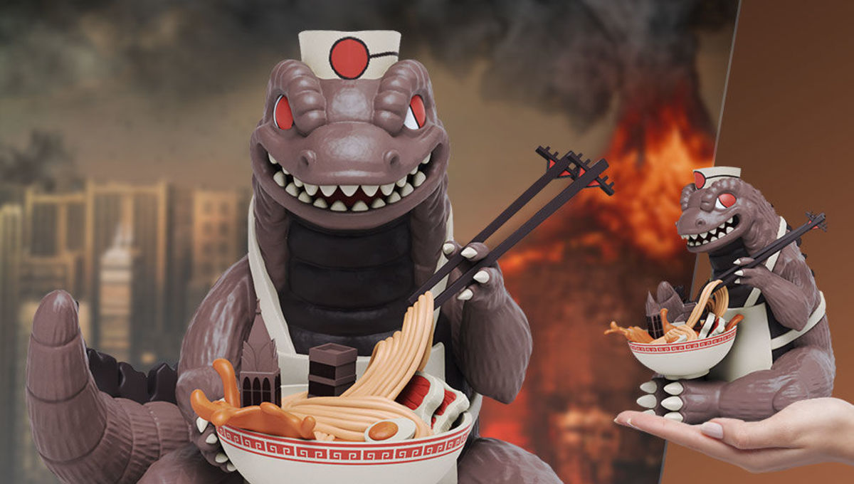 Important Toy News: This ramen-eating Godzilla is priceless, Charlie Brown feels shame