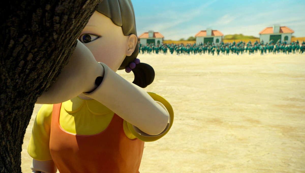 Squid Game: Netflix installs 'Red Light, Green Light' doll at shopping mall