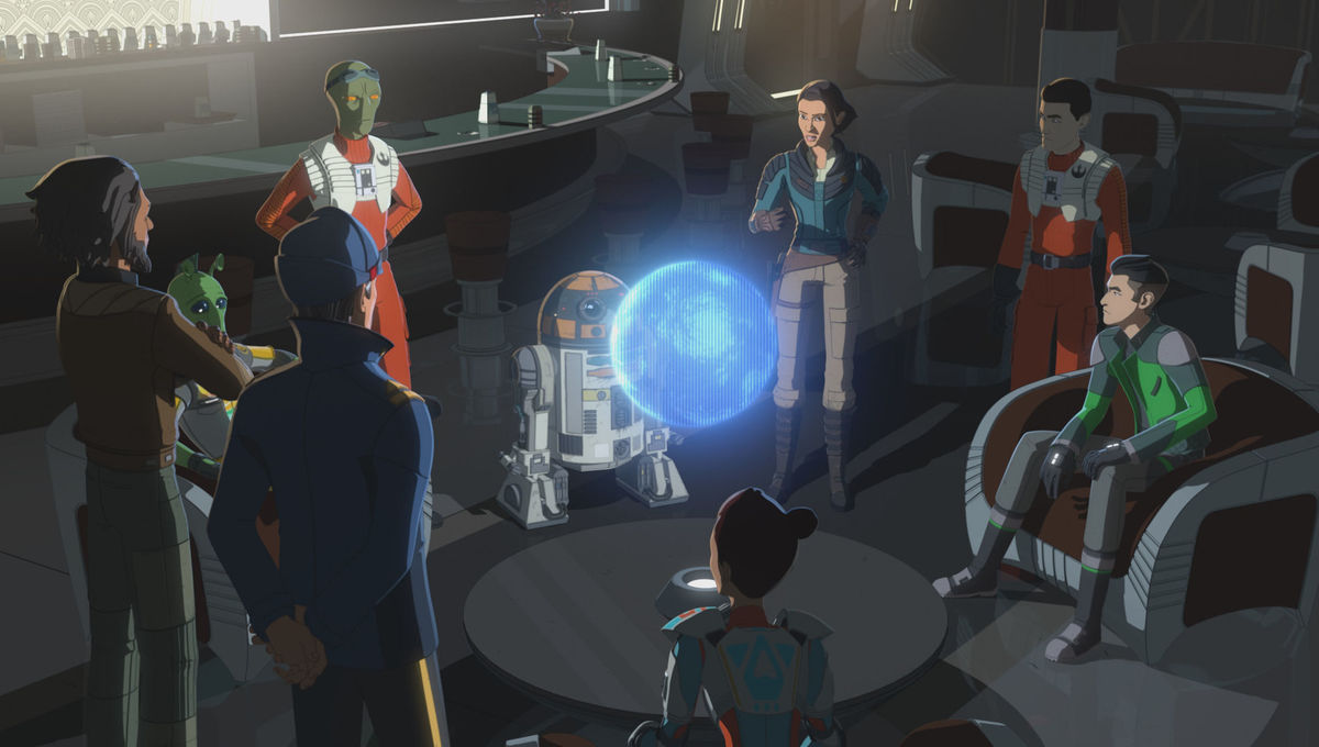 The Colossus finally joins up in this week's Star Wars: Resistance