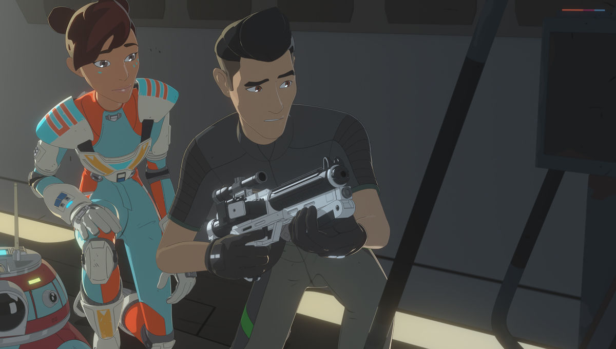 Star Wars Resistance Episode 21 Kaz and Tora