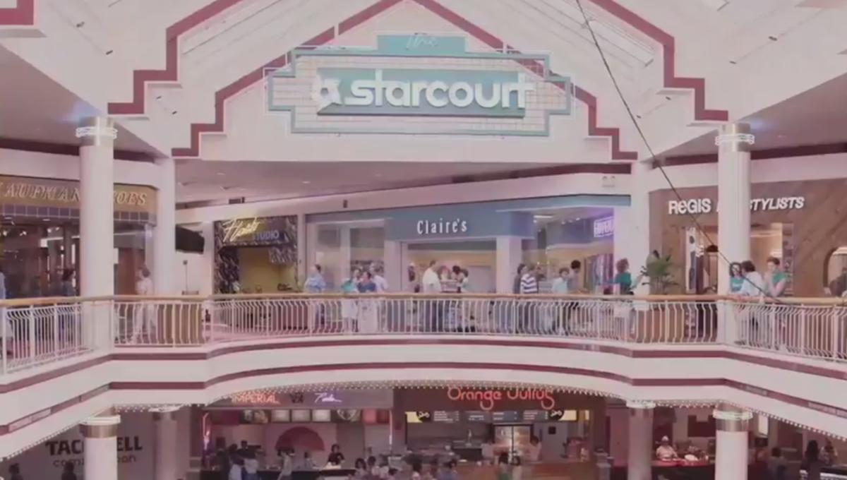 We took a trip to Stranger Things' Starcourt Mall