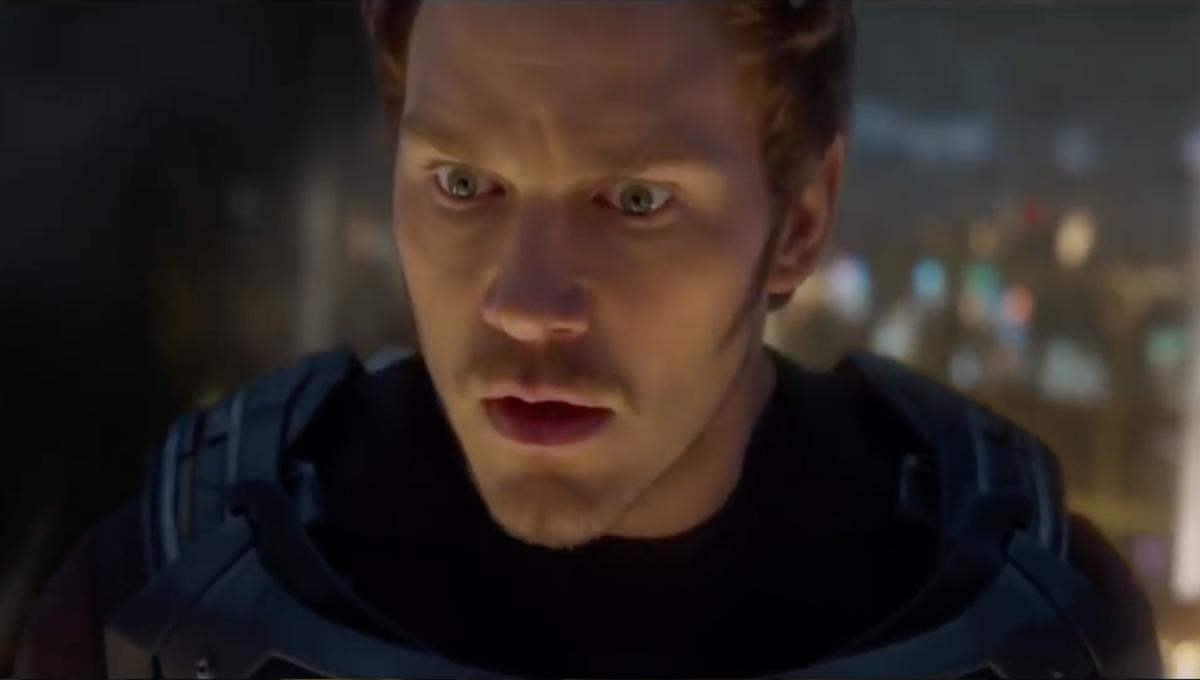 Starlord from Guardians of the Galaxy 2