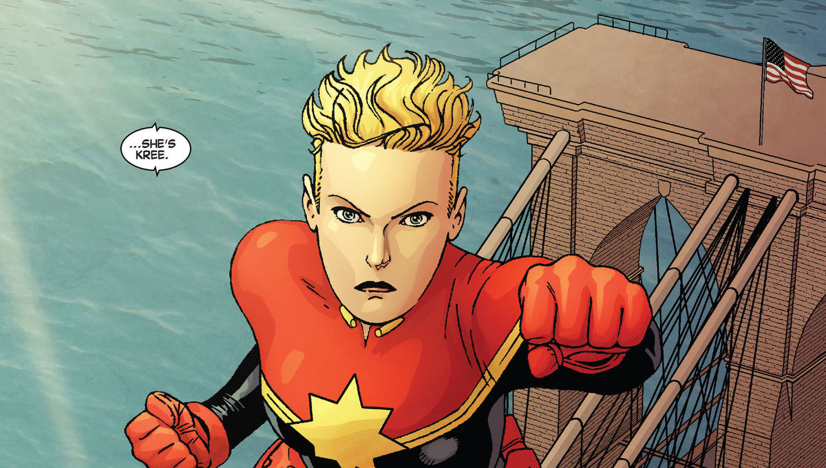 Captain Marvel, comics