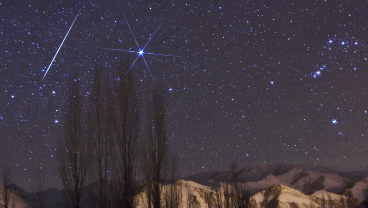 How far away can you see a meteor?