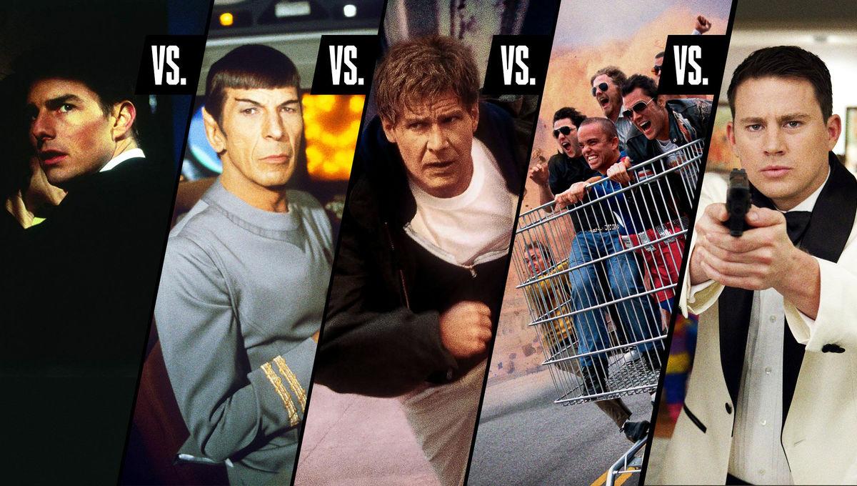 Best TV Movie franchises Debate Club