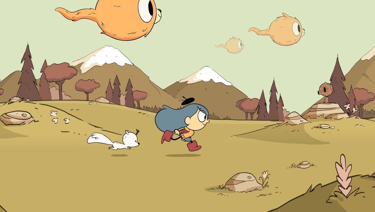 Netflix's Hilda looks like combination of Adventure Time