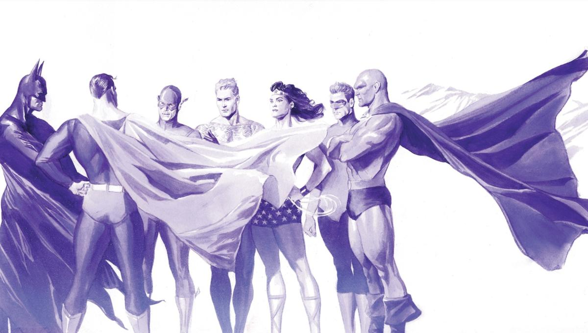 145c9155 Exclusive: Alex Ross pays respect to the Justice League with two new NYCC  lithos