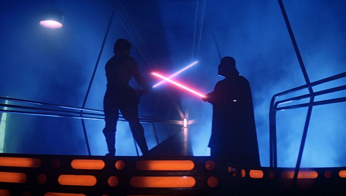 Luke vs Darth Vader The Empire Strikes Back