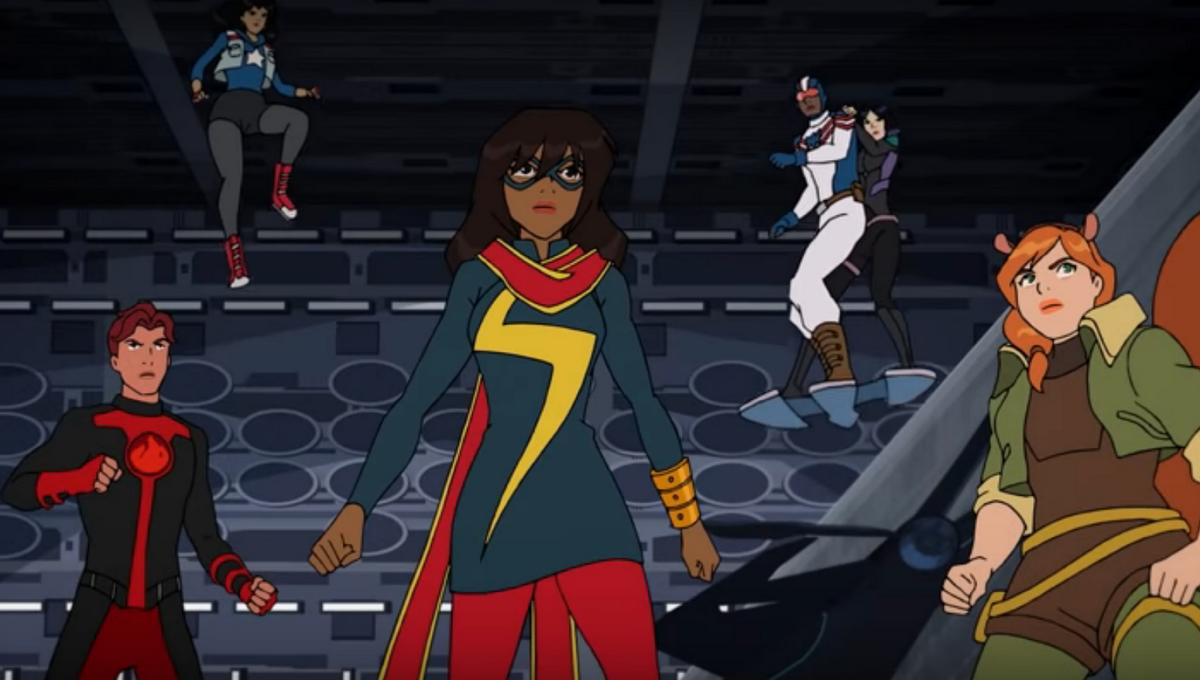 Marvel Rising Secret Warriors Trailer