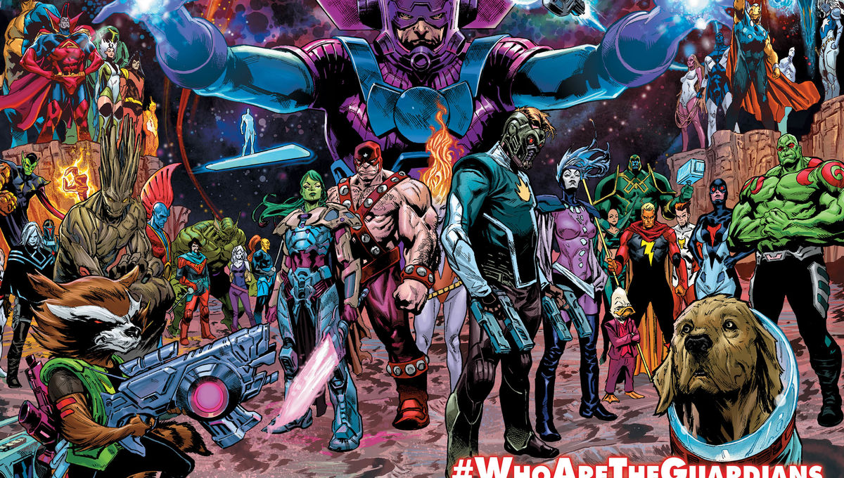 Marvel Who Are The Guardians