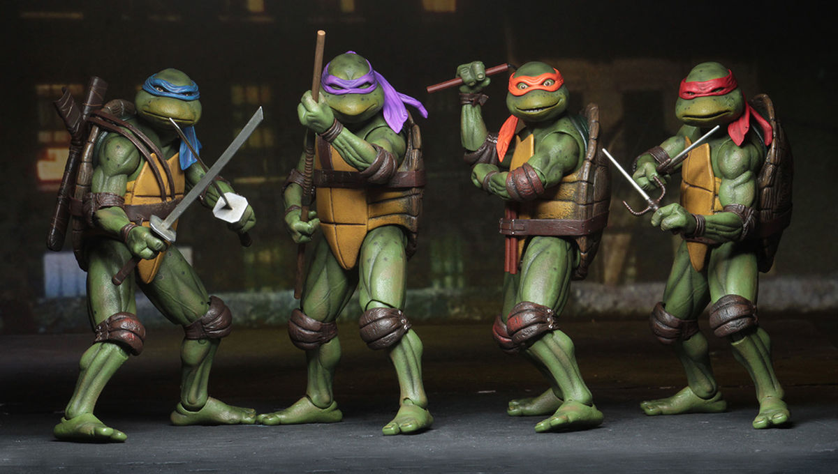 Making Necas Teenage Mutant Ninja Turtles Syfy Wire