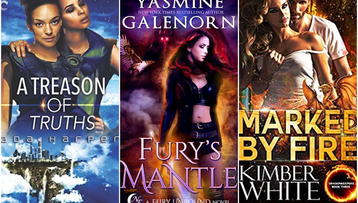 October SFF romance hero