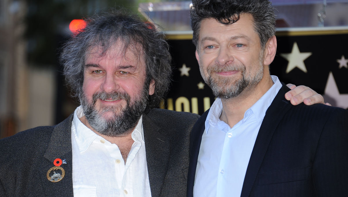 Peter Jackson and Andy Serkis