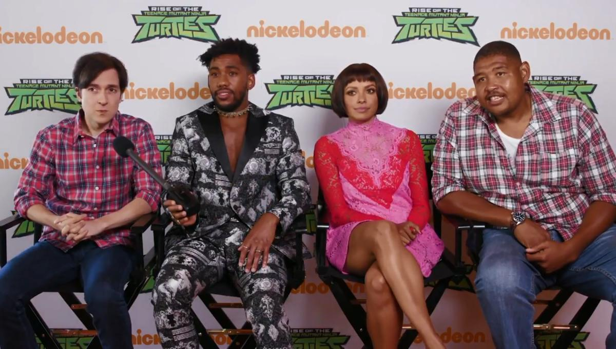 Does the cast of Rise of the Teenage Mutant Ninja Turtles know the 80s/90s toy line?