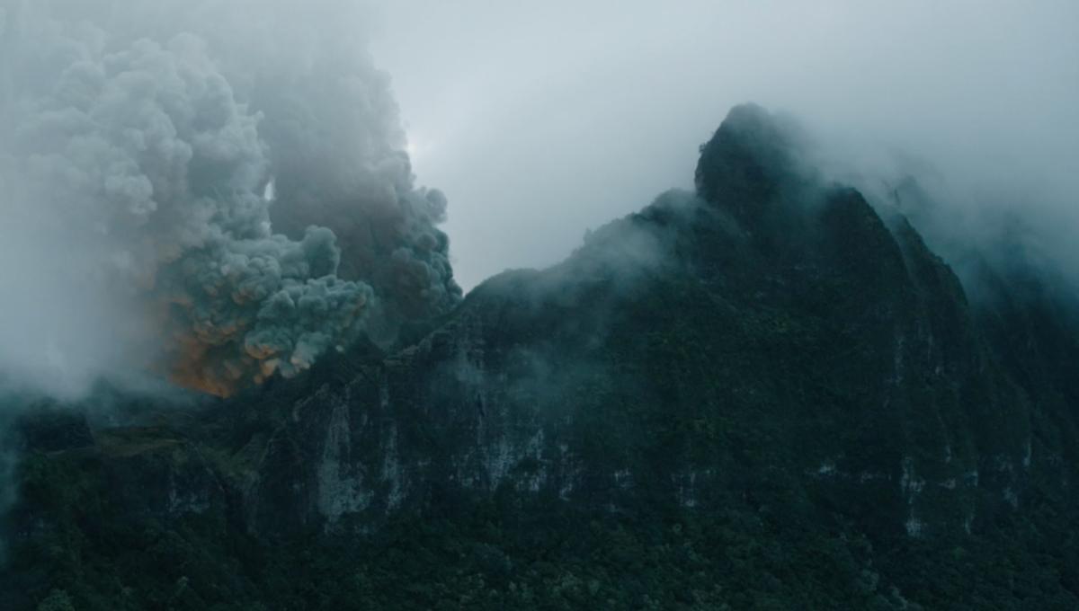 Jurassic World: Fallen Kingdom's volcanic island is all VFX in