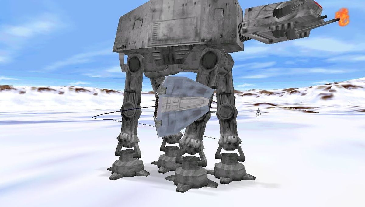 Star Wars Shadows of the Empire N64 hero