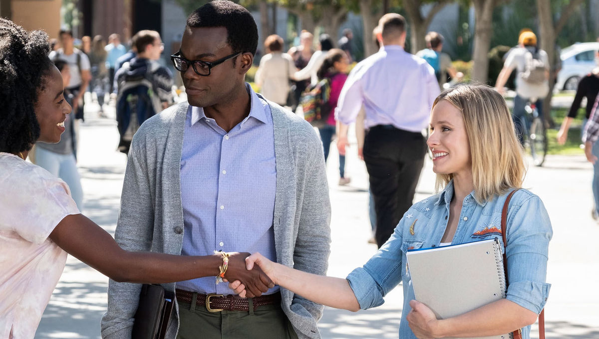 The Good Place showrunner on series plan: 'We don't know everything