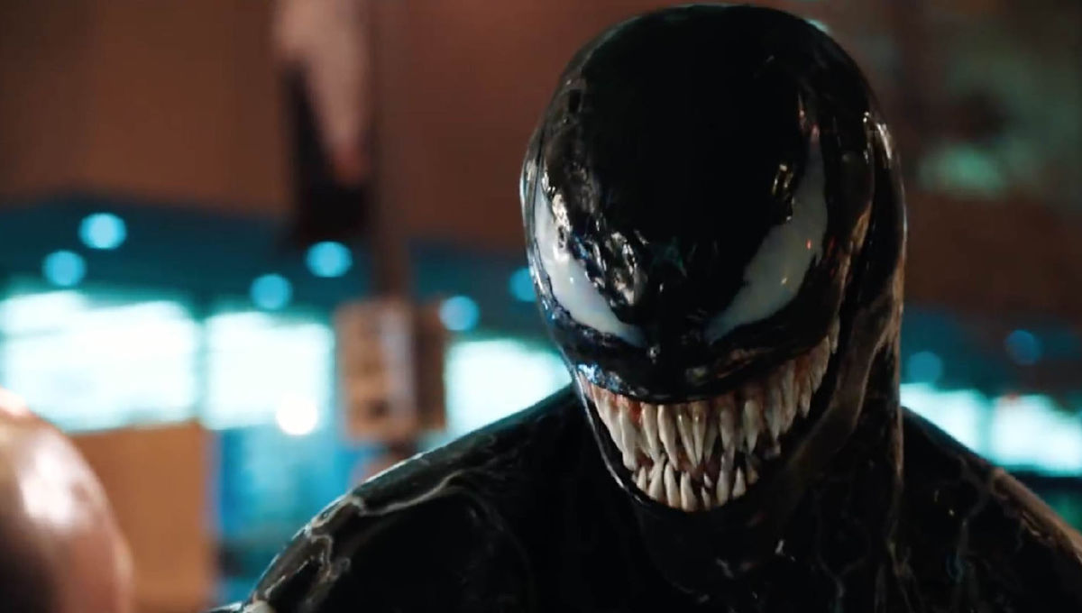 Venom Villain Revealed Chest Symbol Explained Syfy Wire