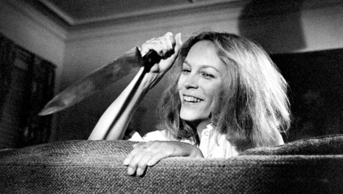 Image of the Day Jamie Lee Curtis sports Michael Myers
