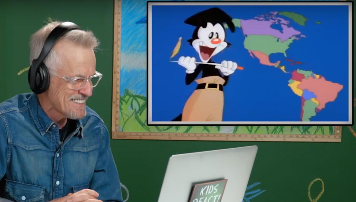 The Animaniacs song 'Yakko's World' just got even more