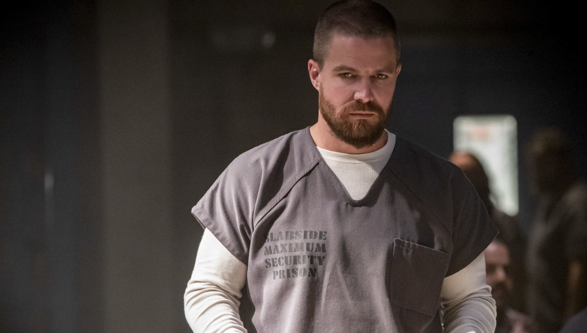 Oliver behind bars, a new Green Arrow, and a Lost-style twist in the Arrow season premiere