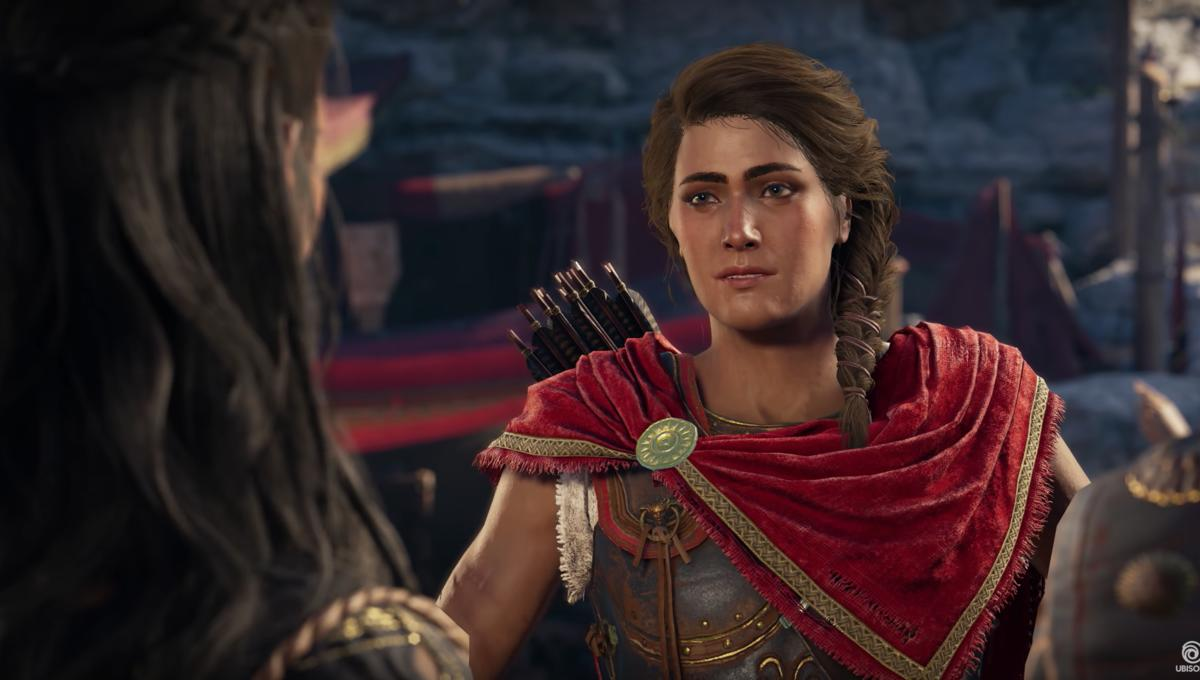 Assassin S Creed Odyssey Allows Players To Choose A Male Or