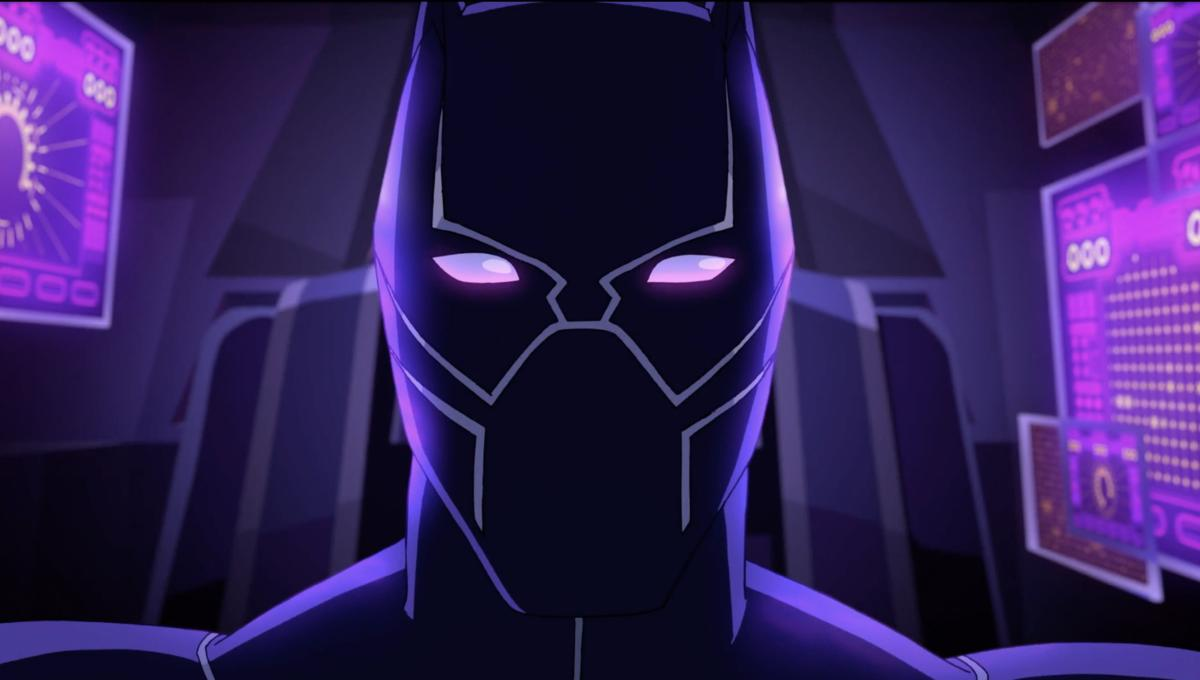 Black Panther Gets Animated In First Look At New Disney Xd Animated