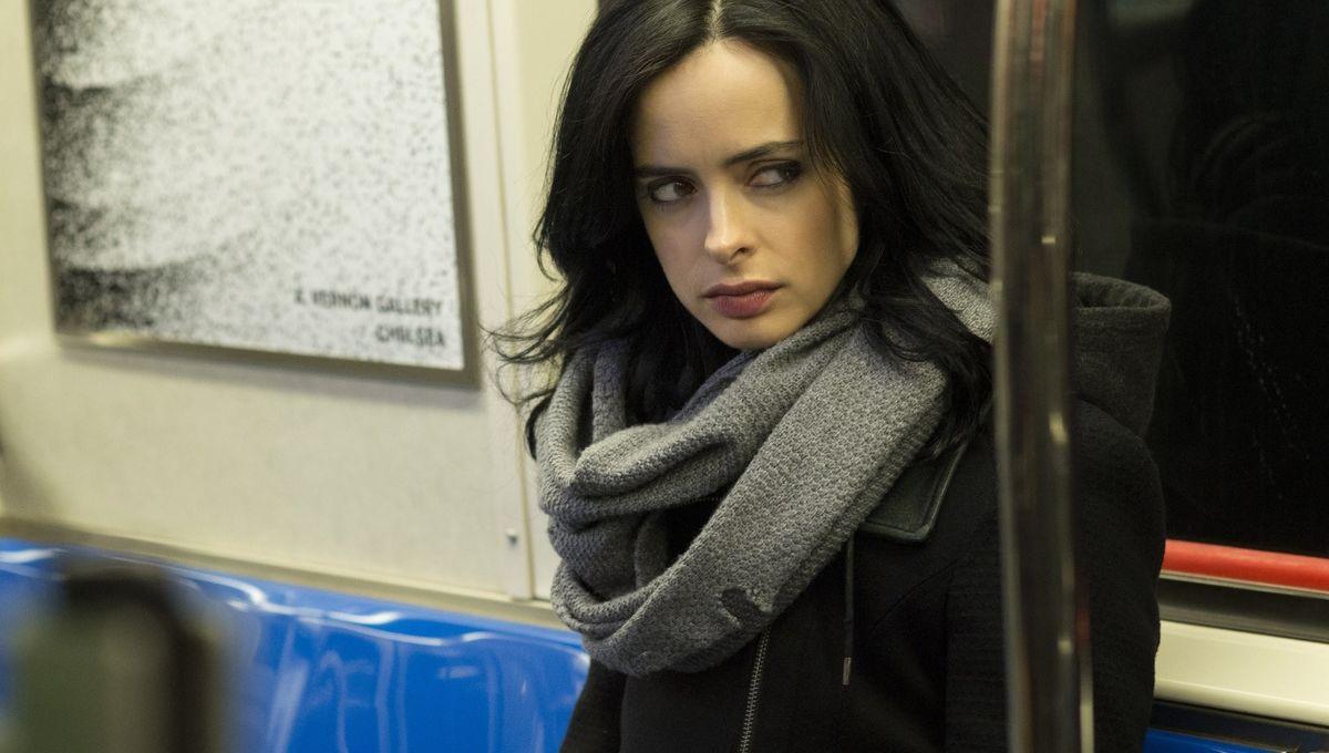 Jessica Jones, subway