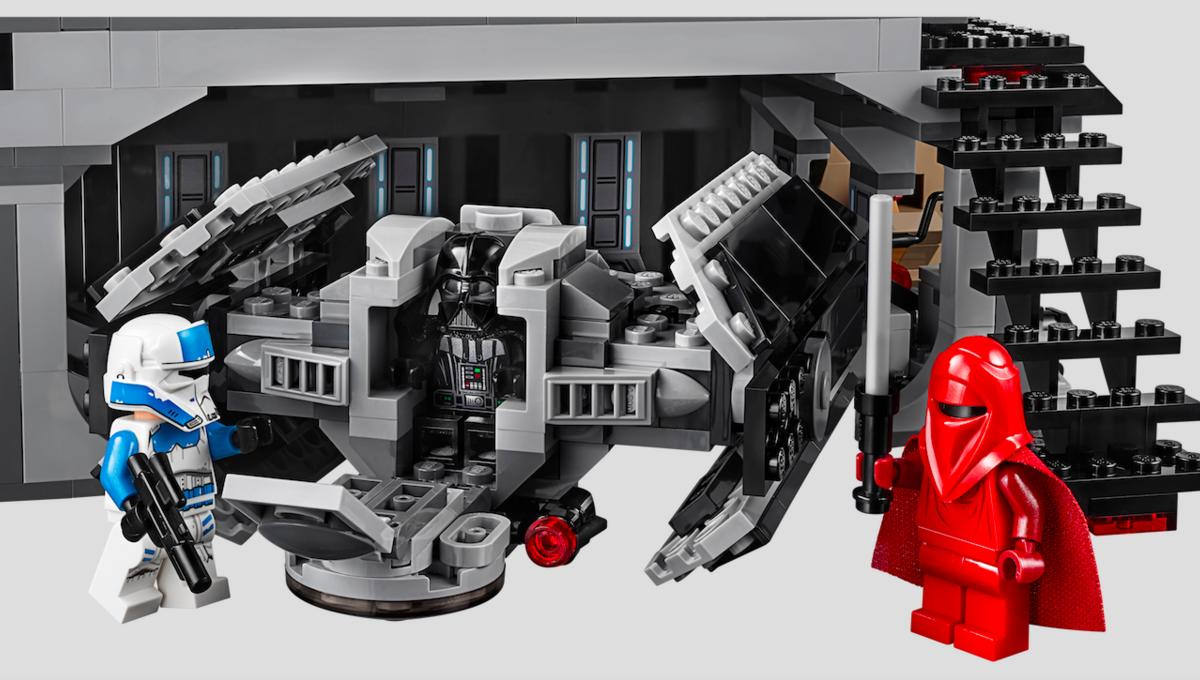 Take a look inside Darth Vader's sinister Castle set from LEGO