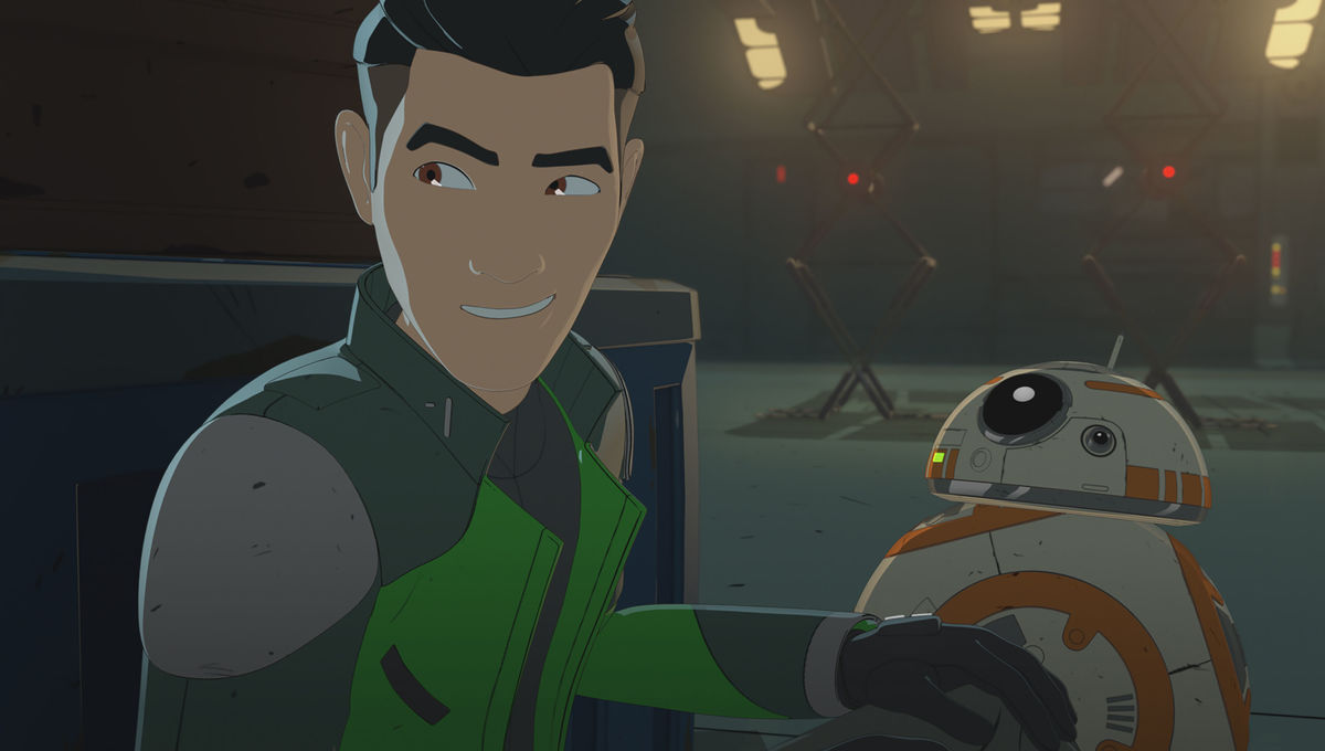 Star Wars Resistance Episode 2 Kaz