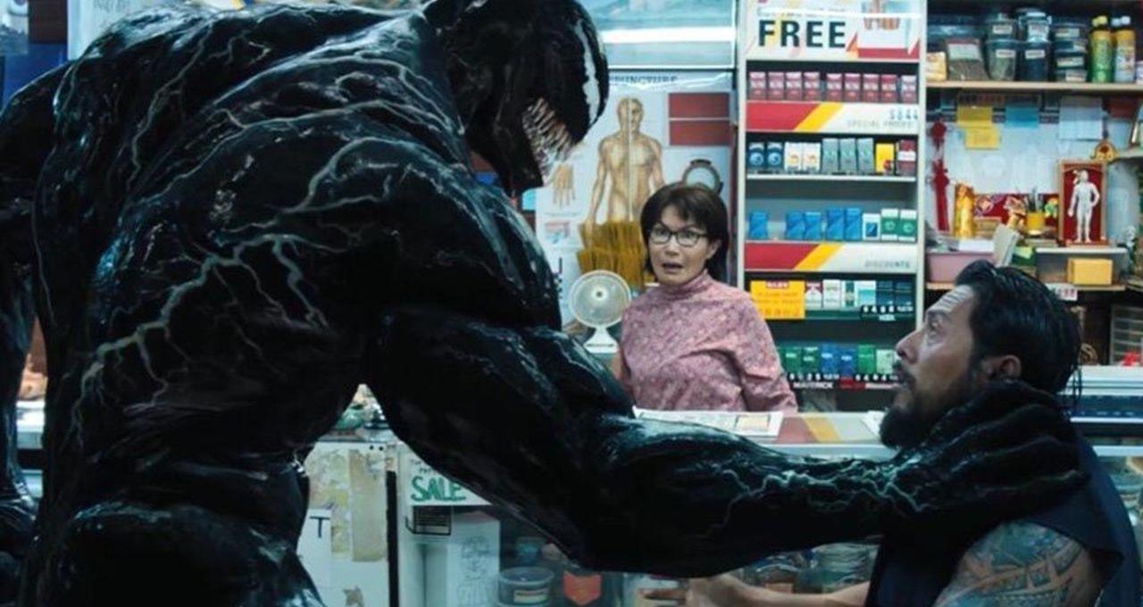 Venom choke hold hero