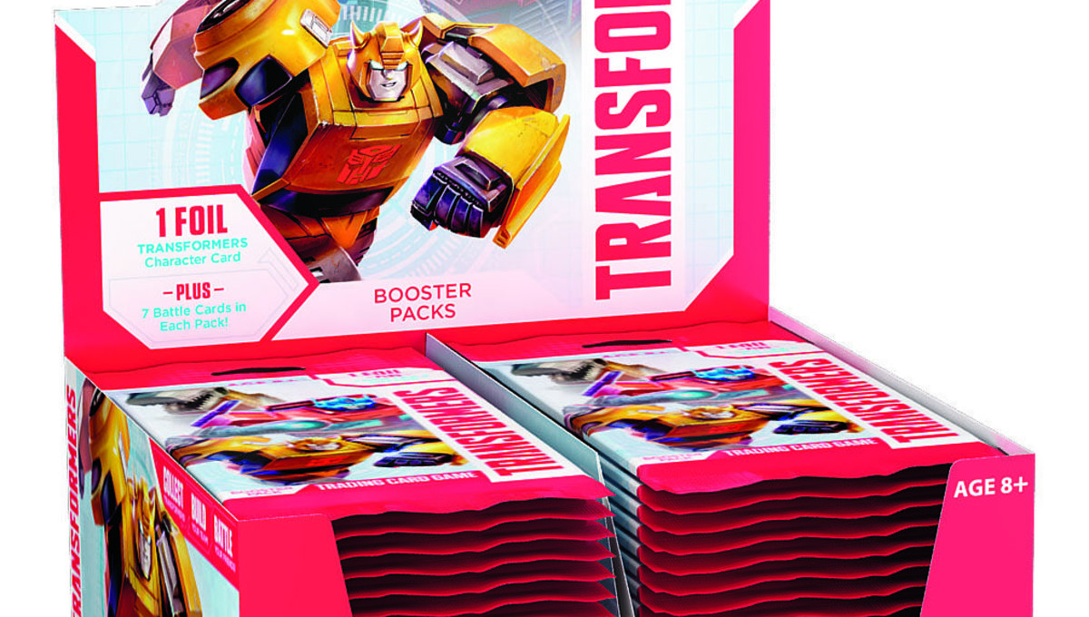 New Transformers trading card game is more than meets the eye