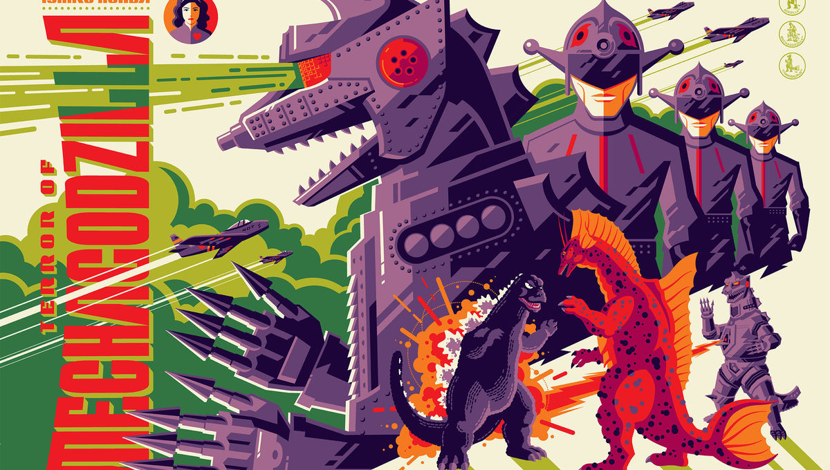 Godzilla's US takeover moves to Austin with a Mondo poster show at SXSW
