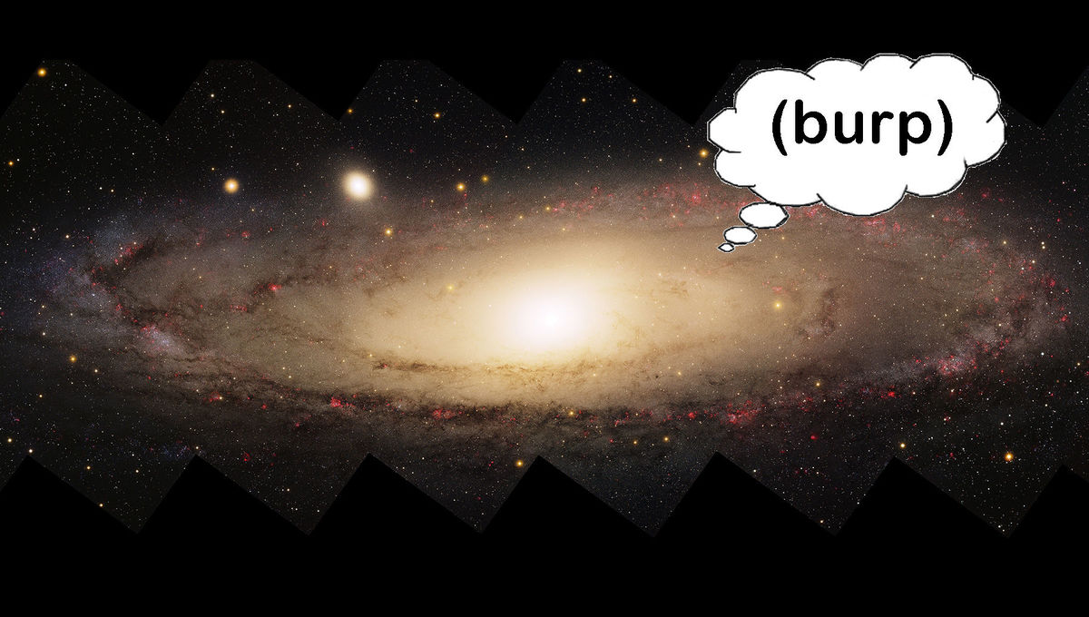 The Andromeda Galaxy ate its small friends… twice