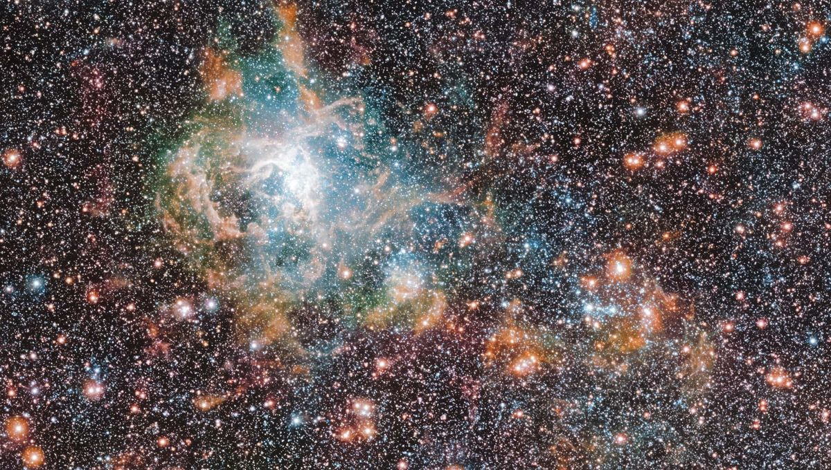 Reassessing an irregular spiral: A spectacular image of the Large Magellanic Cloud