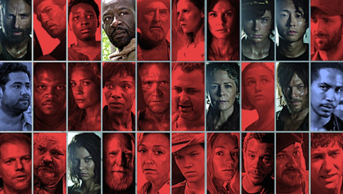 Image(s) of the Day: The Walking Dead character status and kill-count charts