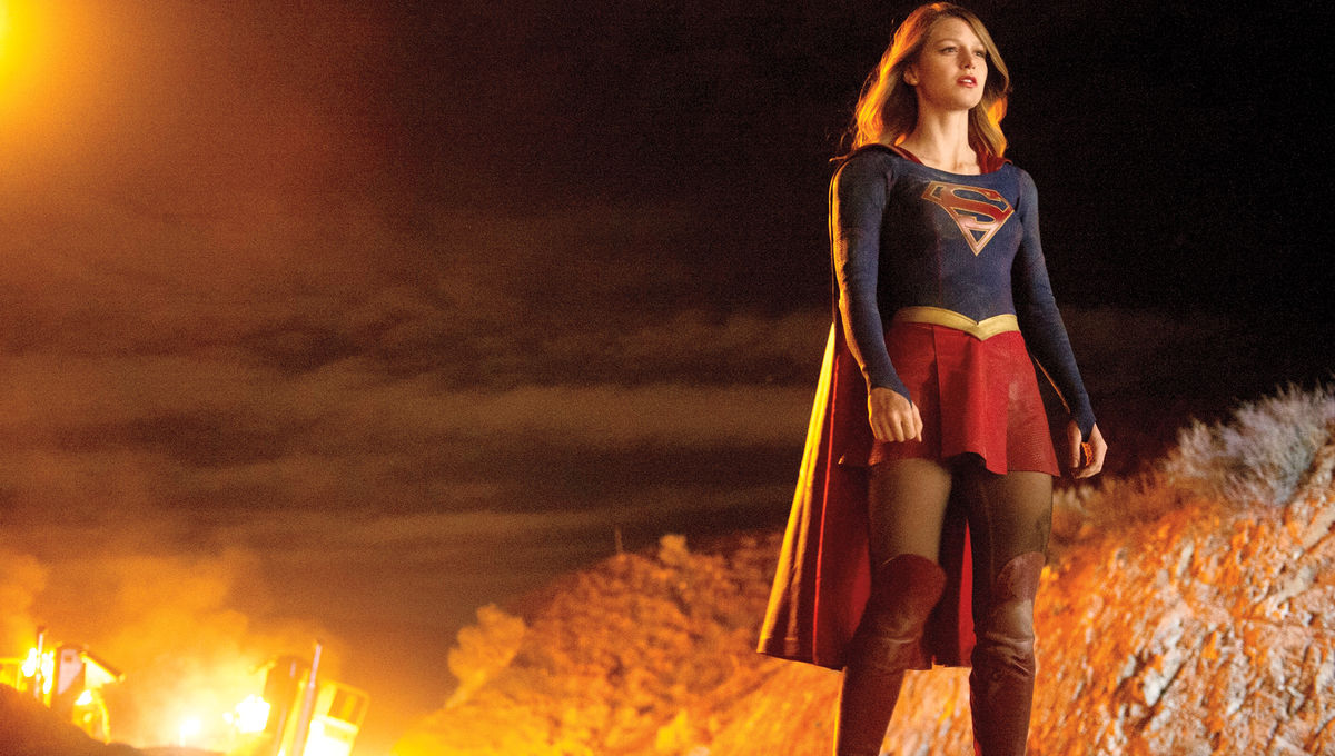 Supergirl's powers are being tested in first behind the scenes
