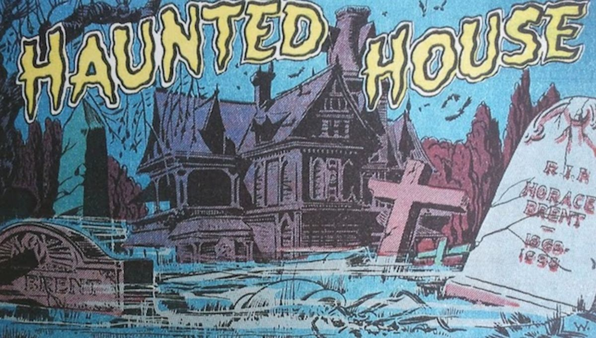Creep inside these 23 thrilling, chilling haunted-house comic-book