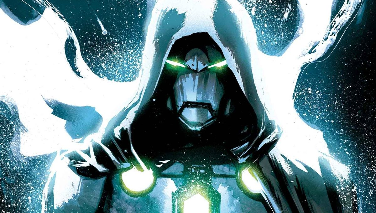 Doctor Doom becomes the Infamous Iron Man