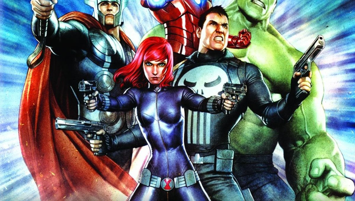 Punisher And Black Widow Team Up In 8 Clips From Marvel S