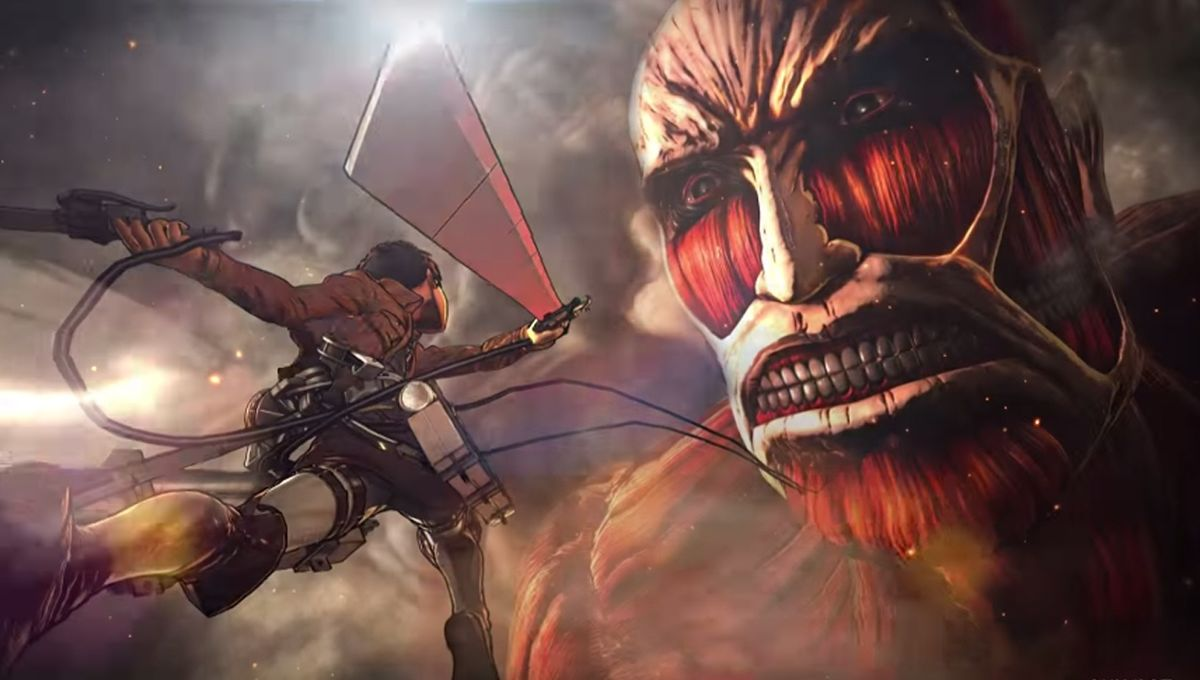 New Attack on Titan video game unleashes a first action