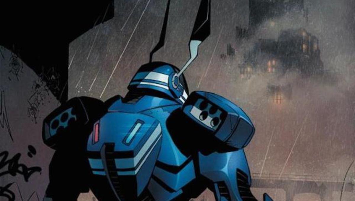 An all-new Batsuit is revealed in Batman #41