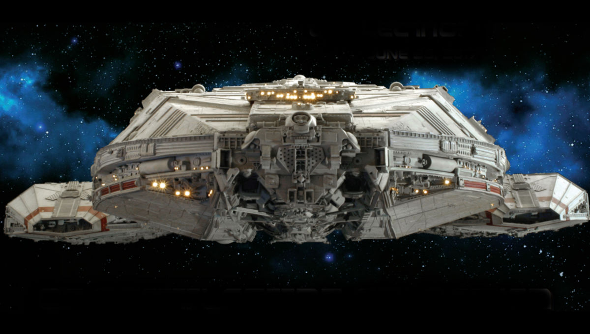 Battlestar Galactica model