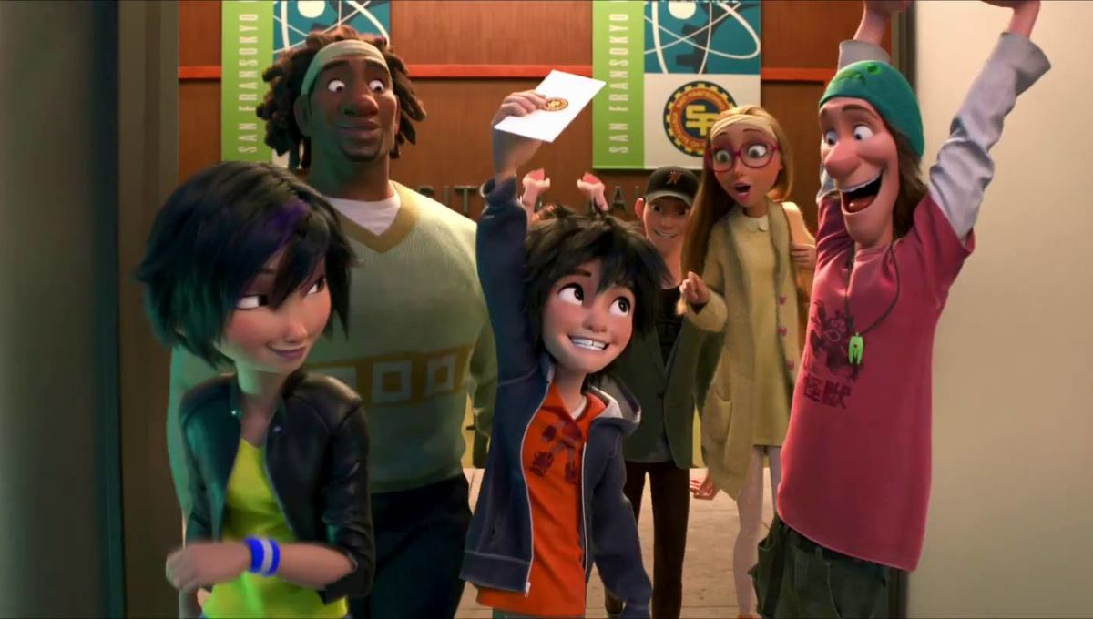 Meet the heroes of Marvel and Disney s Big Hero 6 with 6+ mins. of new  footage  18c6d35075