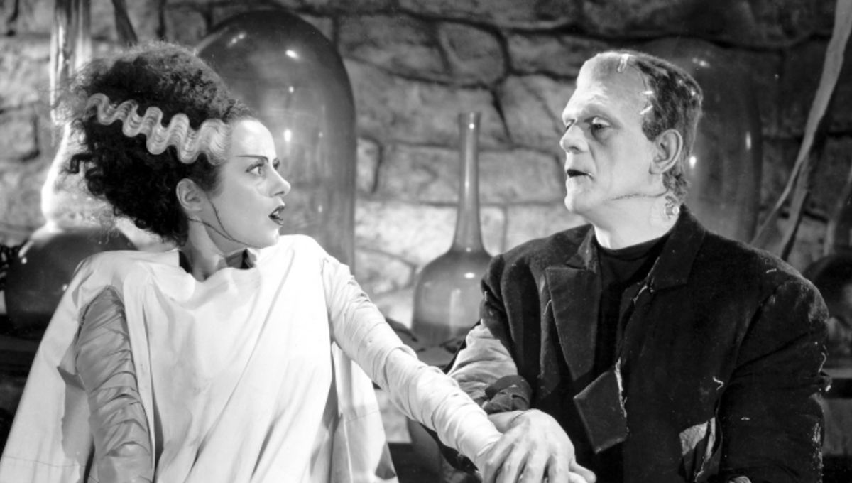 Never The Monster Always The Bride The Bride Of Frankenstein In
