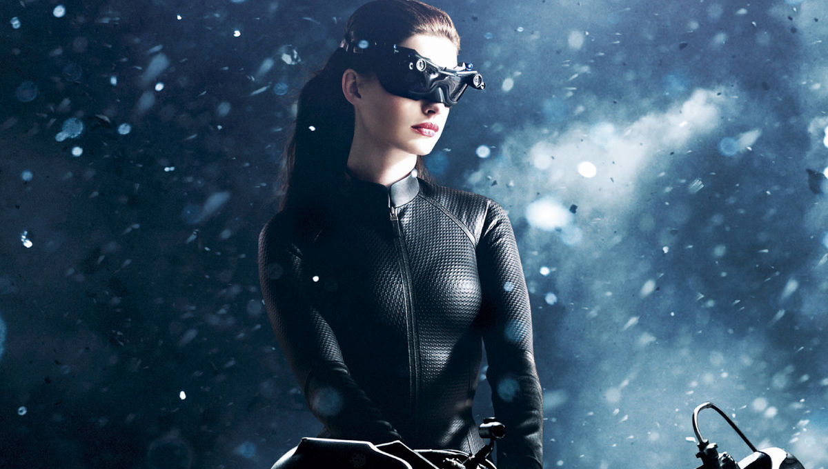 Look of the Week: Anne Hathaway's commanding Catwoman costumes